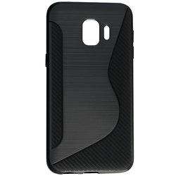Husa Samsung Galaxy J2 Core Mobster S-Line Legacy - Negru