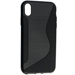 Husa iPhone XR Mobster S-Line Legacy - Negru