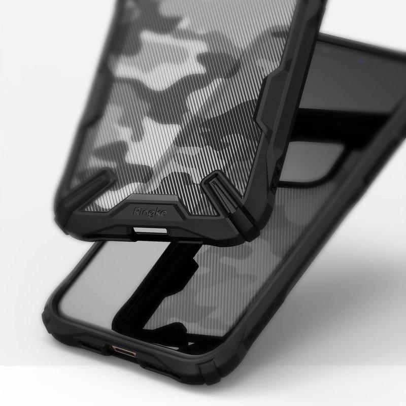 Husa iPhone 11 Pro Max Ringke Fusion X - Camo Black