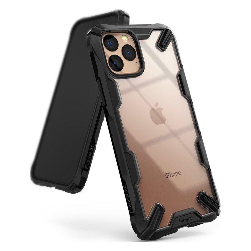 Husa iPhone 11 Pro Ringke Fusion X - Black