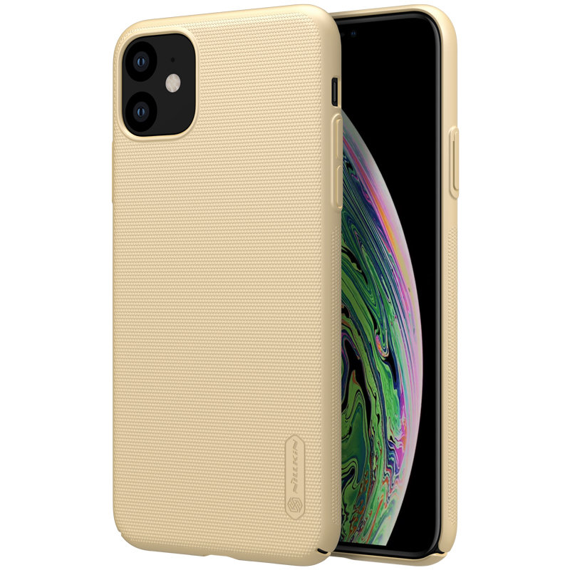 Husa iPhone 11 Nillkin Frosted Gold