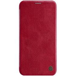 Husa iPhone 11 Pro Max Flip Nillkin QIN Rosu