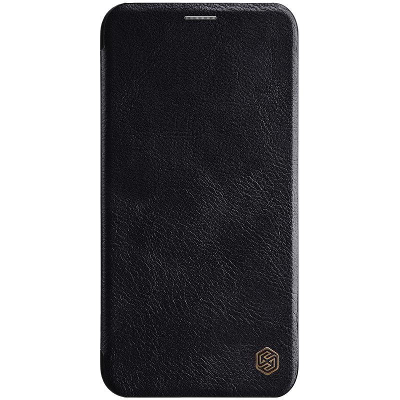 Husa iPhone 11 Pro Max Flip Nillkin QIN Negru