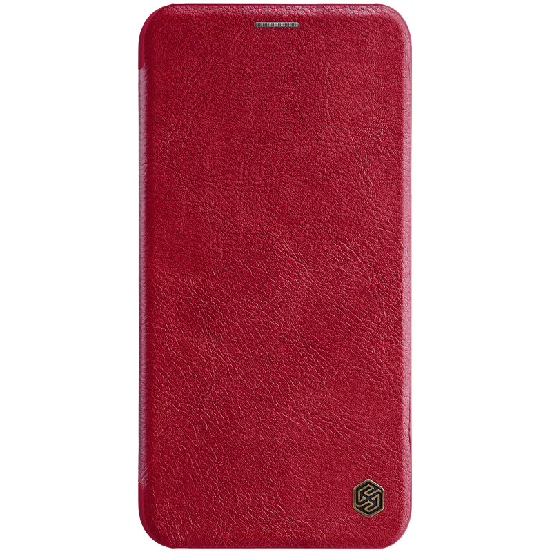 Husa iPhone 11 Flip Nillkin QIN Rosu