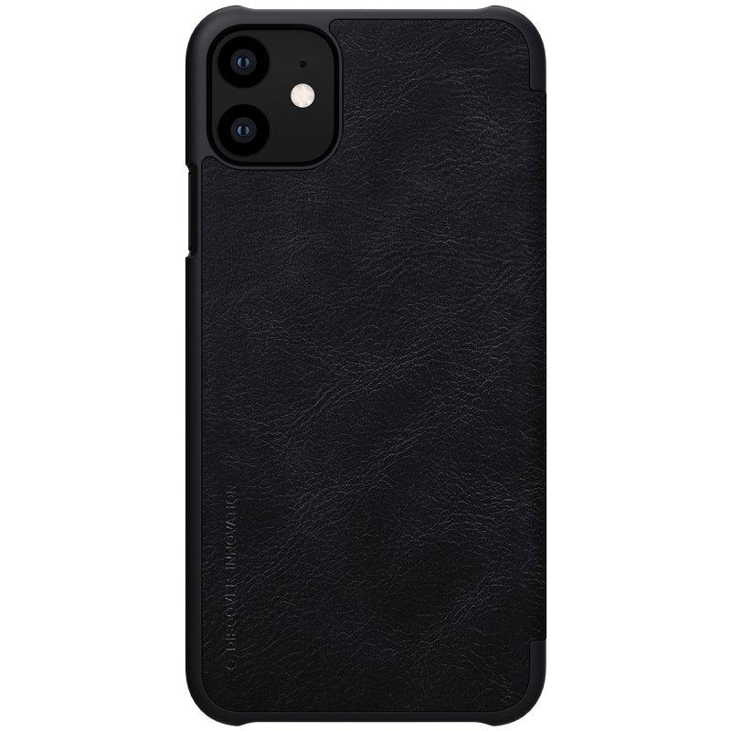 Husa iPhone 11 Flip Nillkin QIN Negru