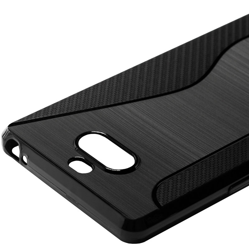 Husa Sony Xperia 20 Mobster S-Line Legacy - Negru
