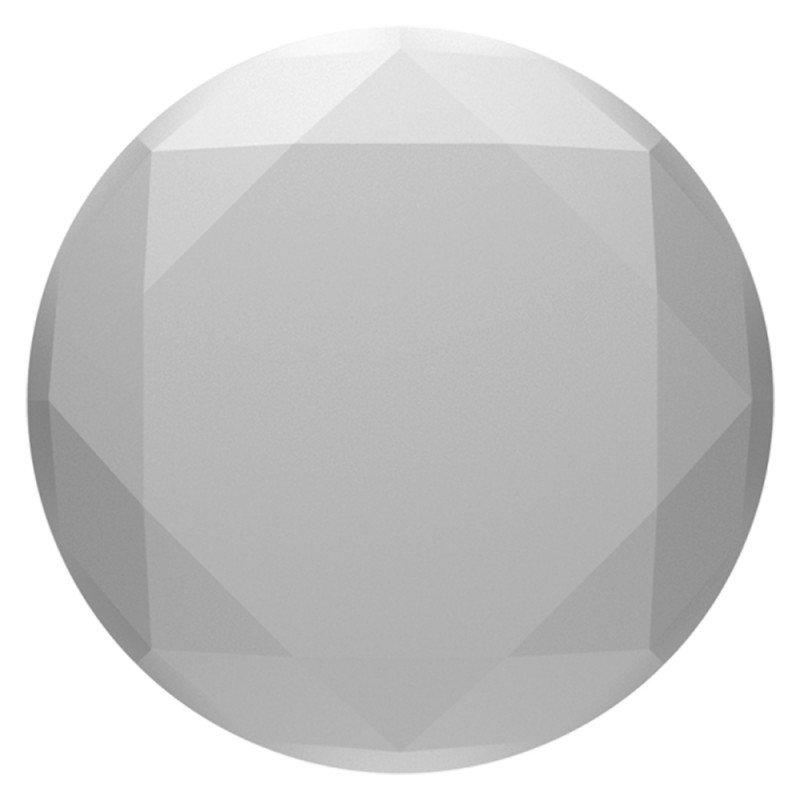 Popsockets Original, Suport Cu Functii Multiple - Diamond Medallion Silver