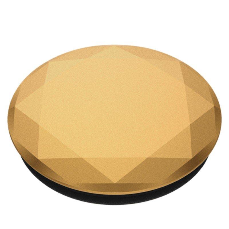 Popsockets Original, Suport Cu Functii Multiple - Diamond Medallion Gold
