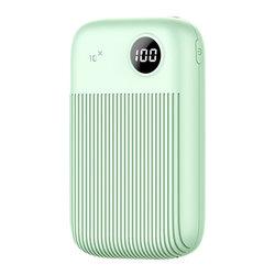 Baterie Externa USAMS PB29 Dual USB Digital Display Power Bank 10000mAh - US-CD91 - Green