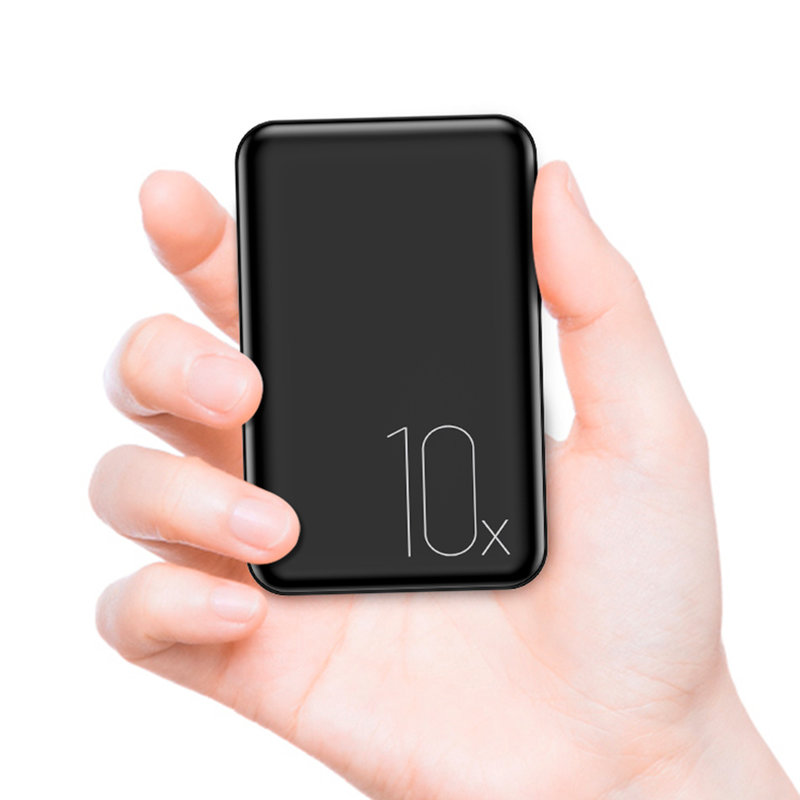 Baterie Externa USAMS PB10 Dual USB Mini Power Bank 10000mAh - US-CD70 - Black