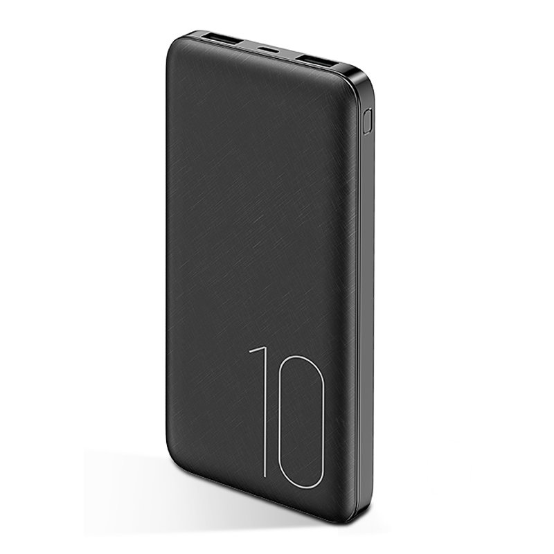 Baterie Externa USAMS Dual USB Power Bank 10000mAh - PB7 - Black