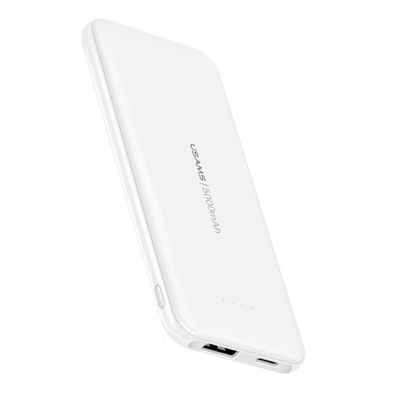 Baterie Externa USAMS PB33 UltraSlim Power Bank 5000mAh - US-CD96 - White