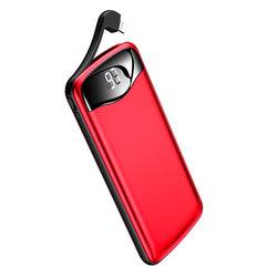 Baterie Externa USAMS PB28 Digital Display Aluminium Alloy 10000mAh - US-CD90 - Red