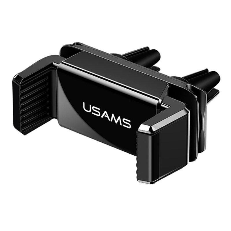 Suport Auto Telefon USAMS Dual Air Vent - US-ZJ045 - Black