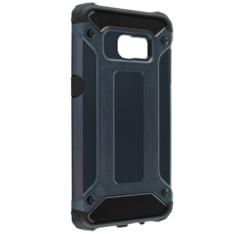 Husa Samsung Galaxy S7 Edge Mobster Hybrid Armor - Albastru