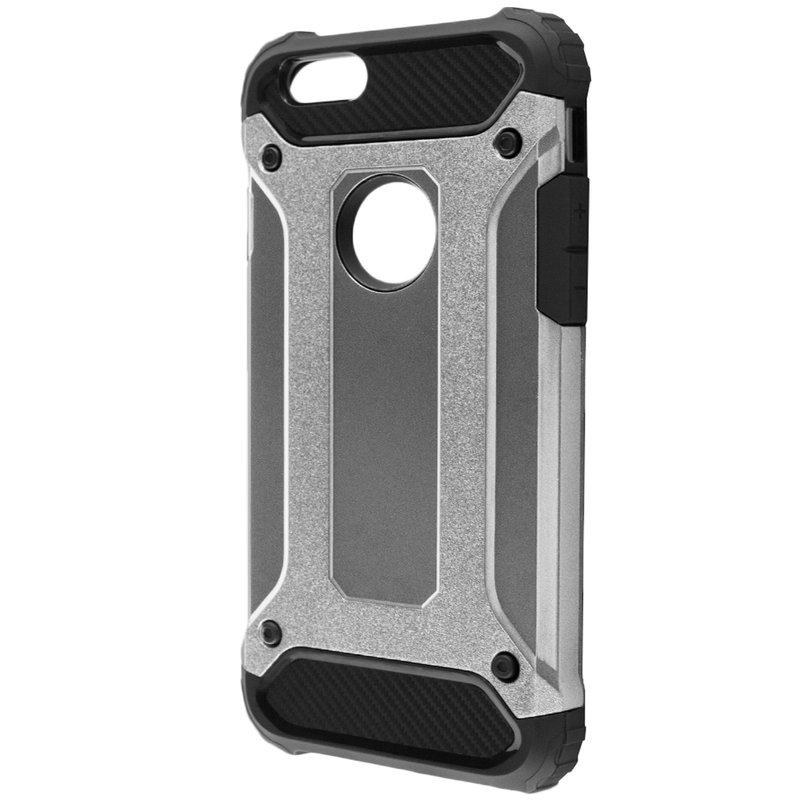 Husa iPhone 6,6S Mobster Hybrid Armor - Argintiu