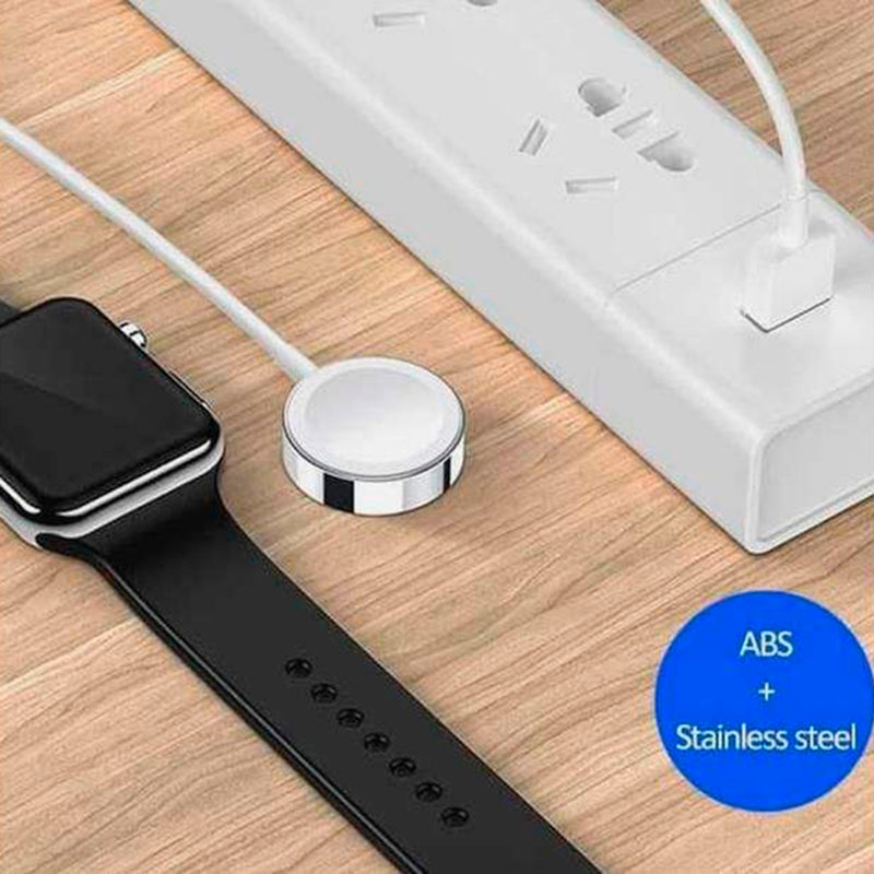 Incarcator Wireless USAMS For Apple Watch Magnetic 2IN1 USB+Lightning - US-CC076 - White