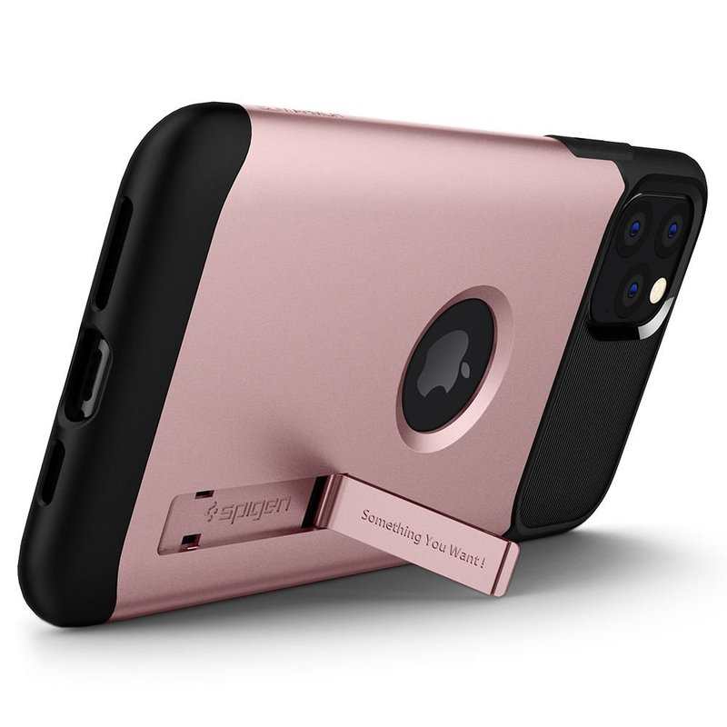 Husa Spigen iPhone 11 Pro Max Slim Armor - Rose Gold