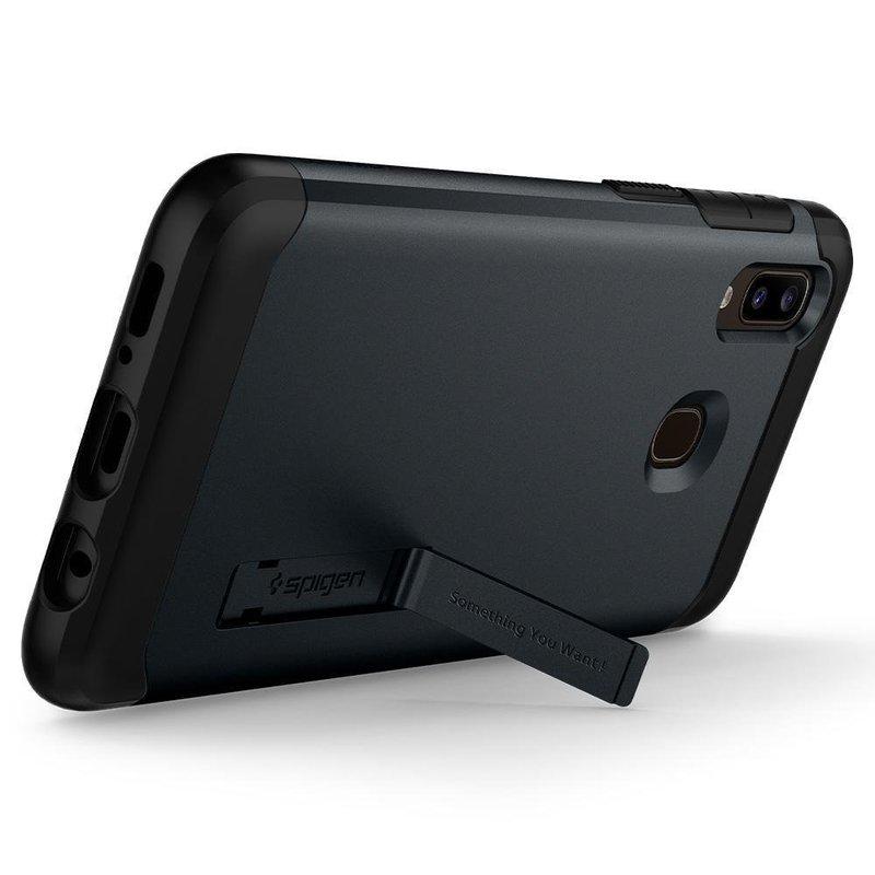 Husa Spigen Samsung Galaxy A40 Slim Armor - Metal Slate