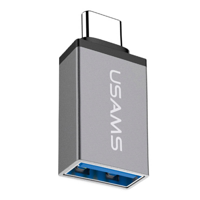 Adaptor USB To Type-C USAMS OTG 3.1A - US-SJ028 - Gray