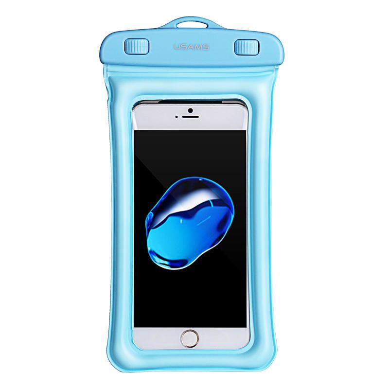 Husa Subacvatica Pentru Telefon USAMS Waterproof Bag - US-YD007 - Blue