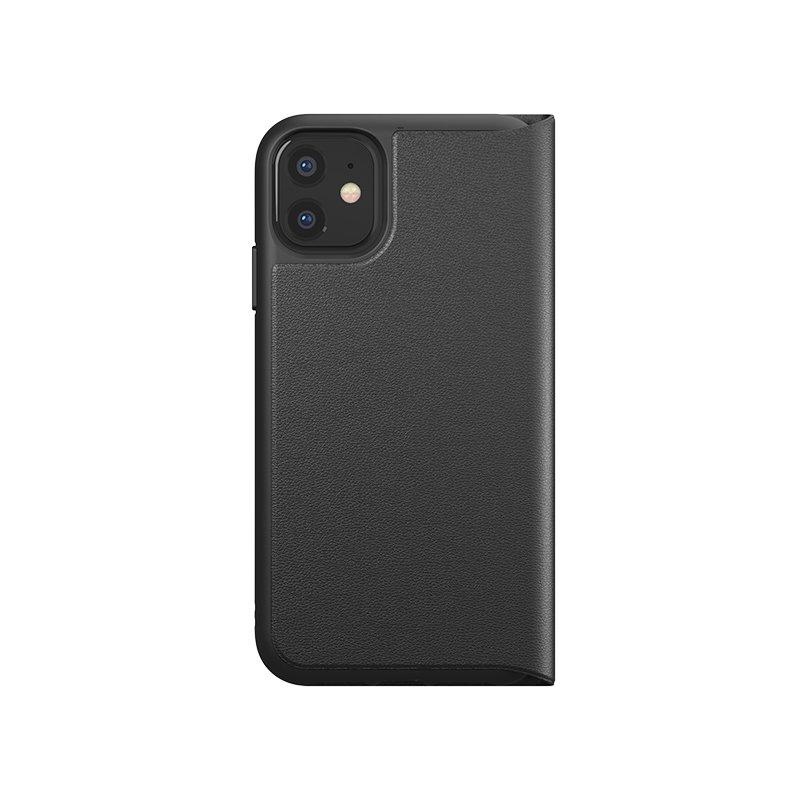 Husa iPhone 11 Adidas Trefoil Booklet - Black