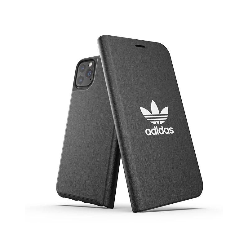 Husa iPhone 11 Pro Max Adidas Trefoil Booklet - Black