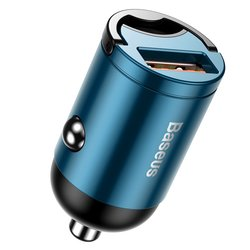 Incarcator Auto Baseus Tiny Star Mini Quick Charge USB Port 30W - VCHX-A03 - Blue