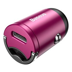 Incarcator Auto Baseus Tiny Star Mini PPS Charge Type-C Port 30W - VCHX-B04 - Pink