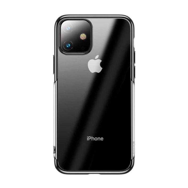 Husa iPhone 11 Baseus Shining Protective Case - Black