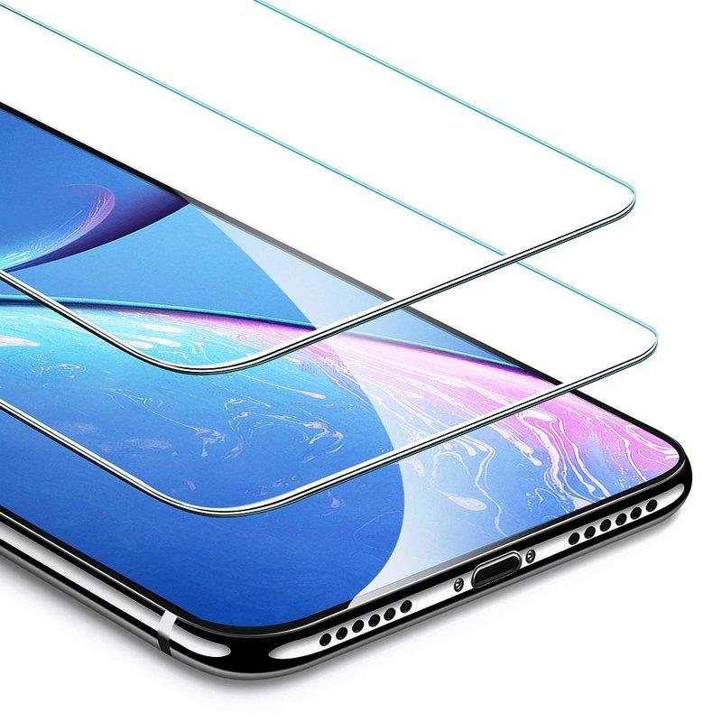 Folie Sticla Telefon iPhone 11 ESR Screen Shield 2 Pack - Clear