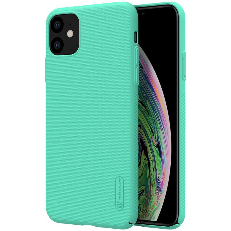 Husa iPhone 11 Nillkin Super Frosted Shield - Mint Green