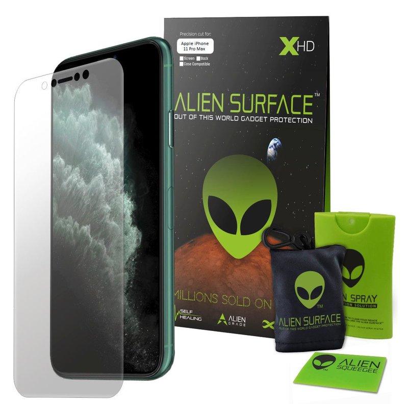 Folie Regenerabila iPhone 11 Alien Surface XHD, Full Face - Clear