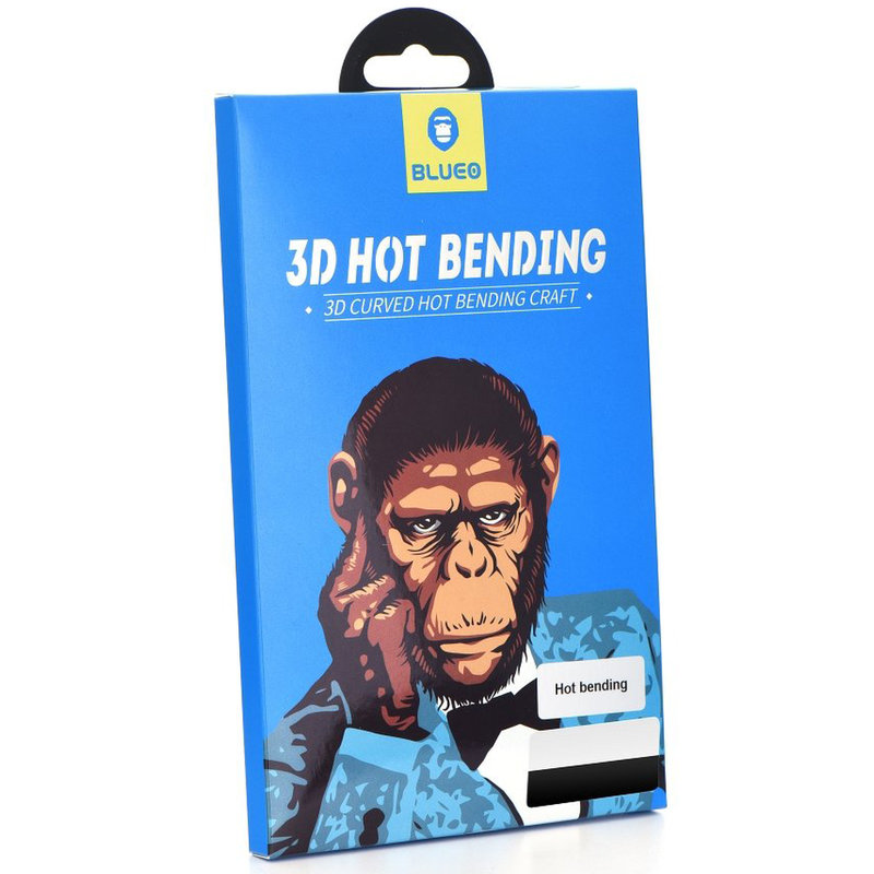 Folie Sticla Samsung Galaxy Note 9 Mr. Monkey 3D Hot Bending Cu Rama - Negru