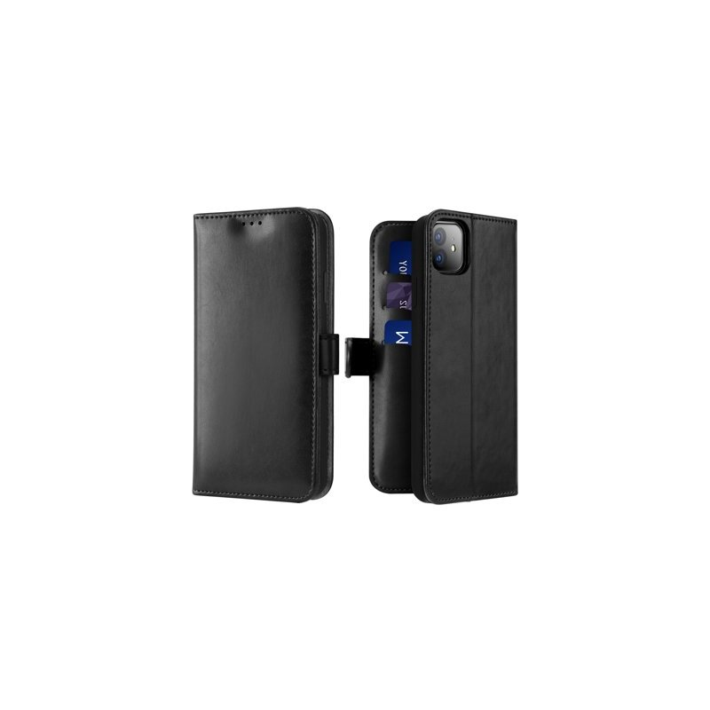Husa iPhone 11 Dux Ducis Kado Series Book - Negru