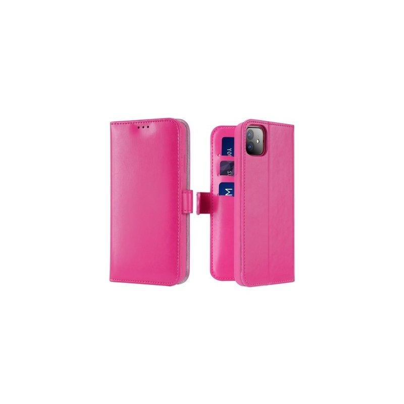 Husa iPhone 11 Dux Ducis Kado Series Book - Roz