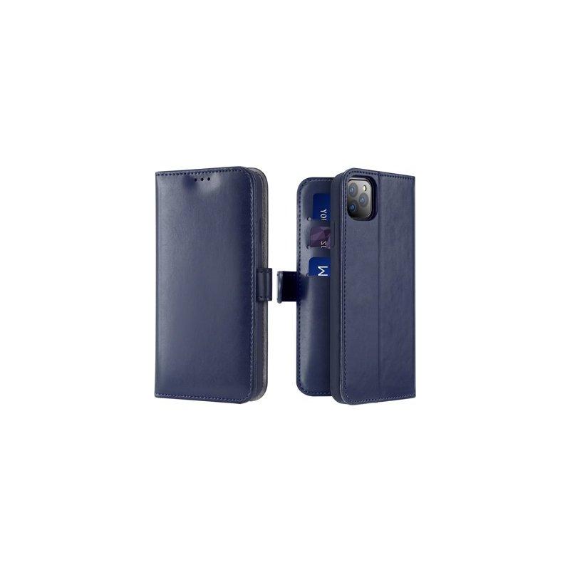 Husa iPhone 11 Pro Max Dux Ducis Kado Series Book - Albastru