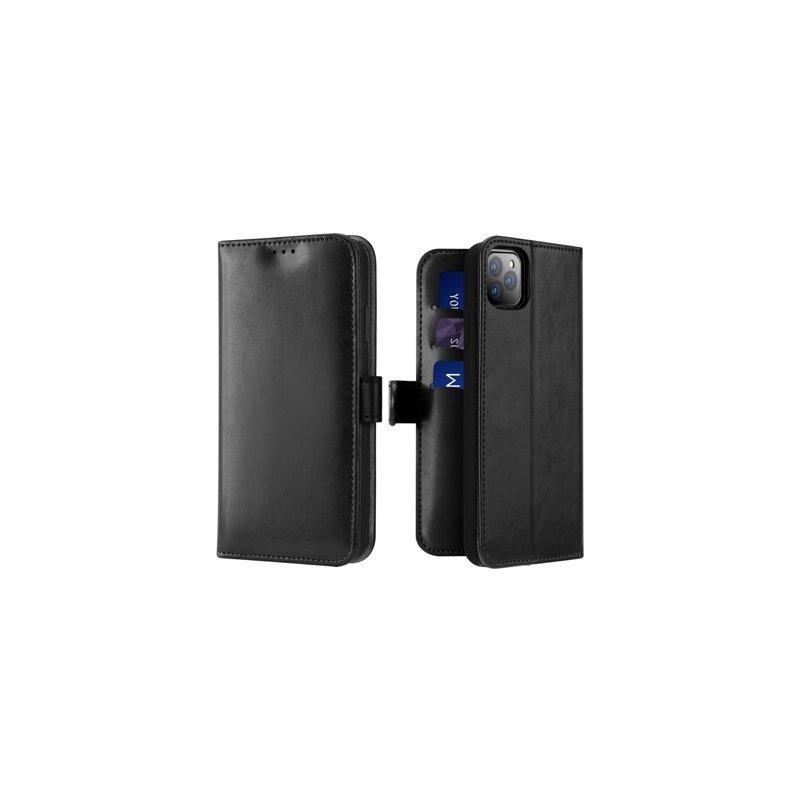 Husa iPhone 11 Pro Max Dux Ducis Kado Series Book - Negru