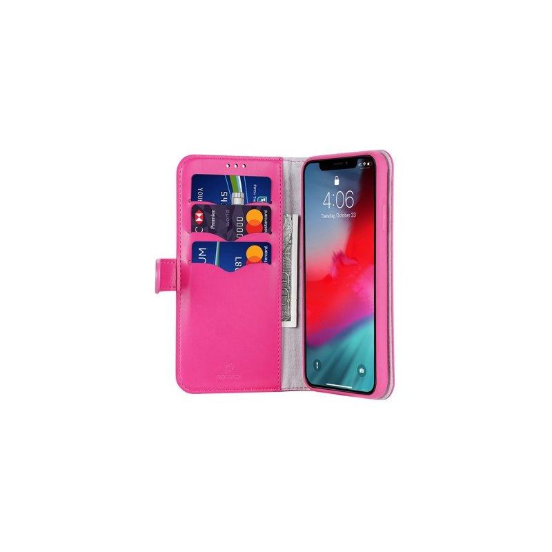 Husa iPhone 11 Pro Max  Dux Ducis Kado Series Book - Roz