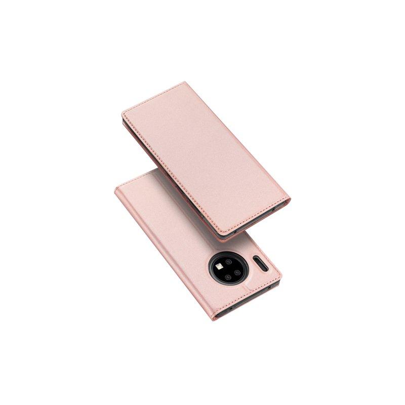 Husa Huawei Mate 30 Pro Dux Ducis Flip Stand Book - Roz