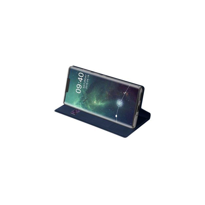 Husa Huawei Mate 30 Pro Dux Ducis Flip Stand Book - Albastru