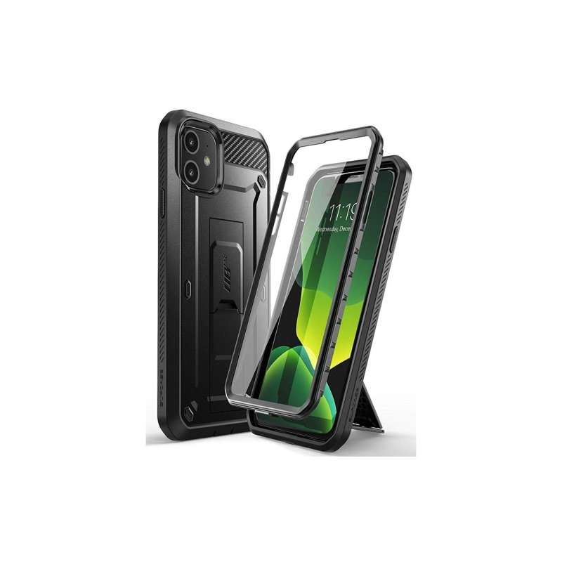Husa iPhone 11 Supcase Unicorn Beetle Pro - Negru