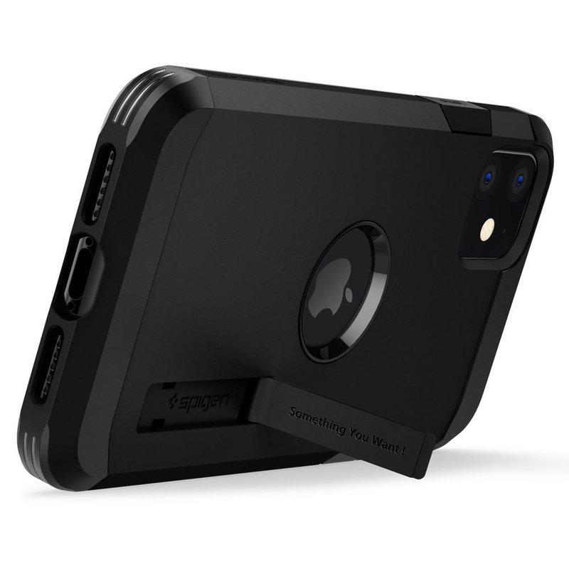 Husa iPhone 11 Spigen Tough Armor XP - Black
