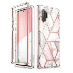 [Pachet 360°]Husa Samsung Galaxy Note 10 I-Blason Cosmo Marble + Bumper - Clear