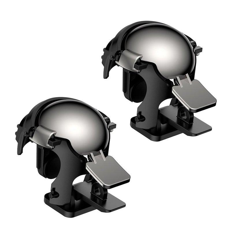 Butoane Gaming Telefon/Tableta Baseus Gamo GA03 Helmet Pubg Gadget - GMGA03-A01 - Black