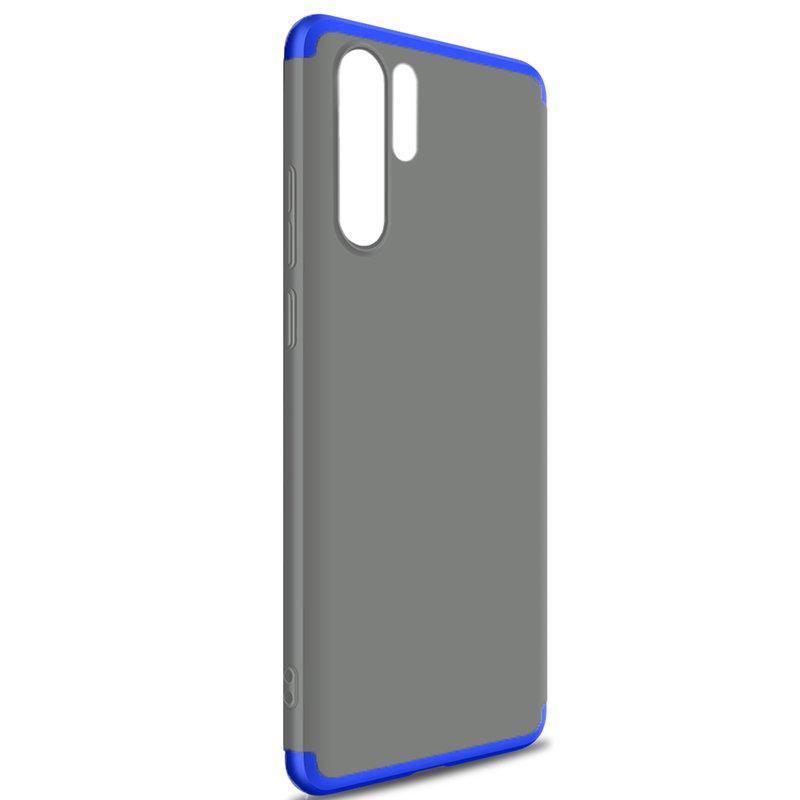 Husa Xiaomi Mi 9T GKK 360 Full Cover Fumuriu/Albastru