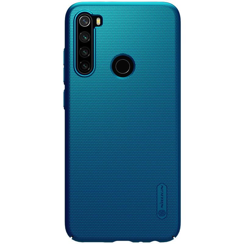 Husa Xiaomi Redmi Note 8 Nillkin Super Frosted Shield - Blue