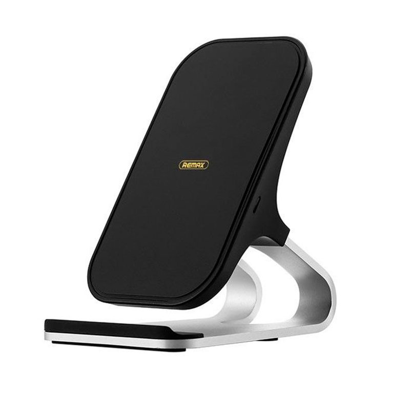 Incarcator Wireless Remax RP-W12 Aluminum Alloy Quick Charge 10W - Negru