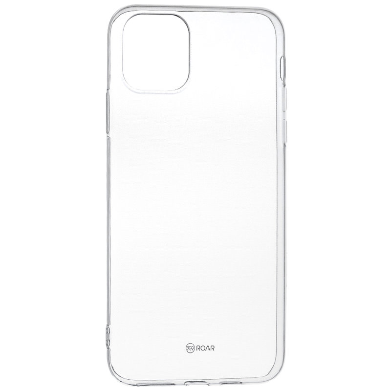 Husa iPhone 11 Roar Colorful Jelly Case - Transparent