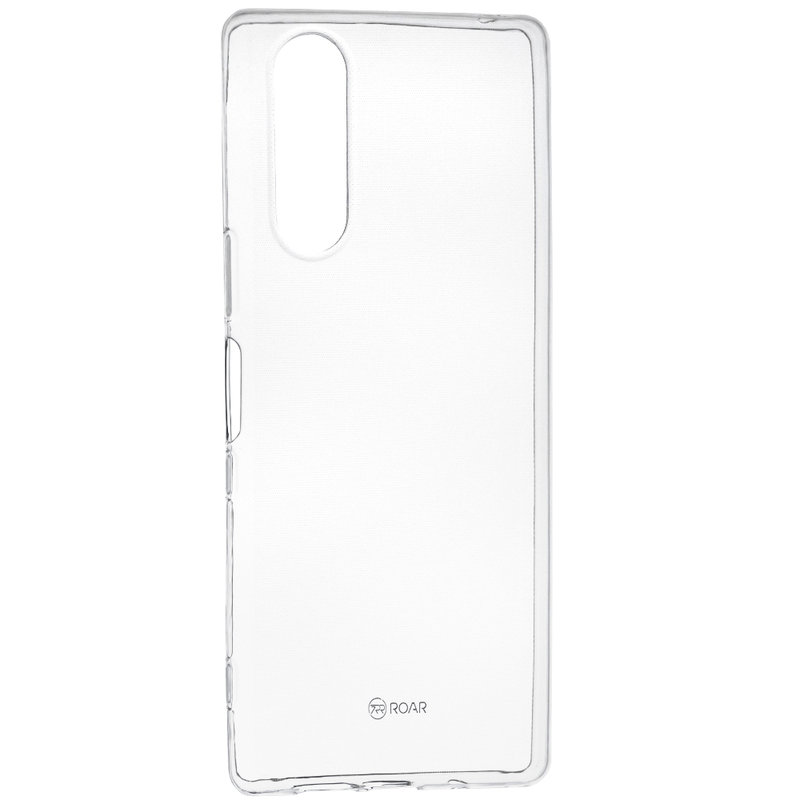 Husa Sony Xperia 5 Roar Colorful Jelly Case - Transparent